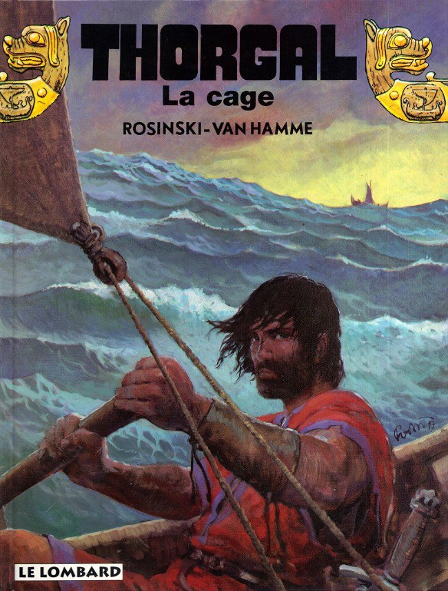 Thorgal, La cage - Rosinski-Van Hamme