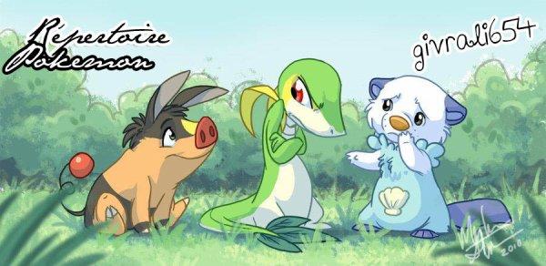 Répertoire Pokemon