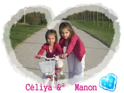 mes 2 fille