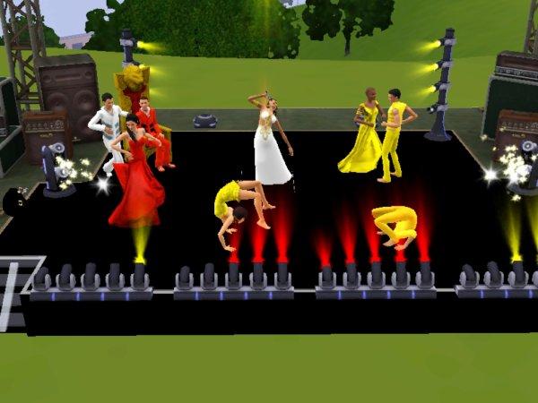 Répétitions danse