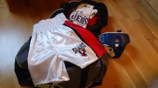Boxe anglaise : Mehdi, supporter de la marque Silveross Wear