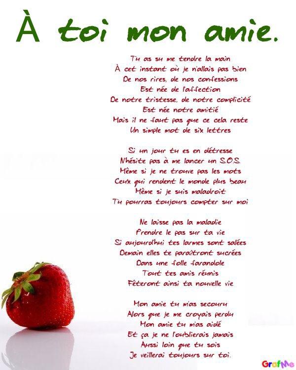 4 Poèmes Sur Lamitié Louloute