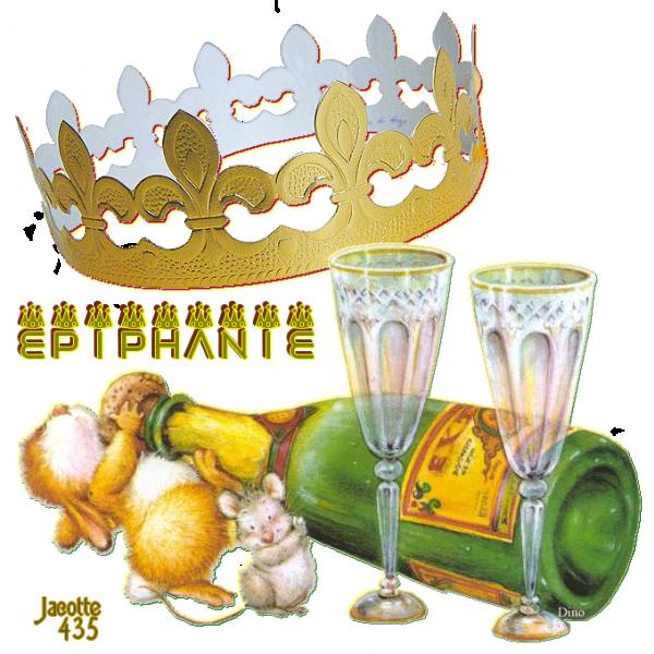 Vive la Galette, sa fève & sa couronne