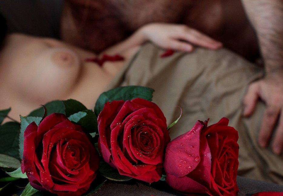 Trois roses pour un Maître