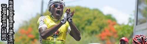 3ème étape du tour de Marie-Galante Victoire Lionel MINY