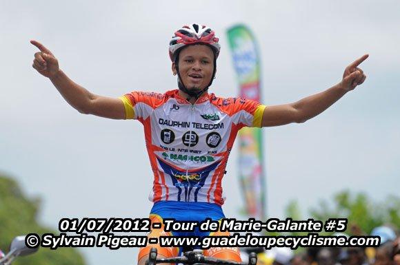 Tour de Marie-Galante :Belair s'adjuge la dernière étape