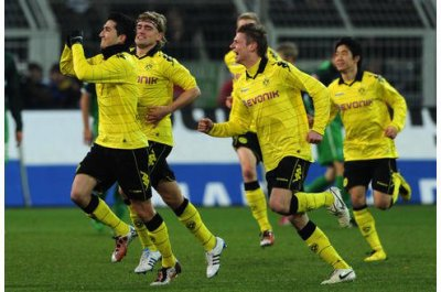 16.Spieltag: Borussia Dortmund - Werder Bremen (2-0)