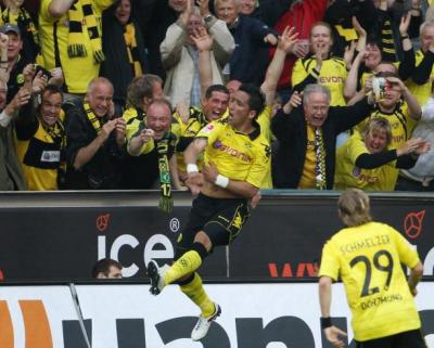 32. Spieltag: Borussia Dortmund - 1. FC Nürnberg (2-0)