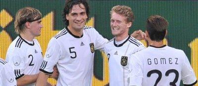 Drei Dortmunder gegen Uruguay im Einsatz
