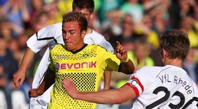 Testspiel gegen VfL Rhede (7-1)