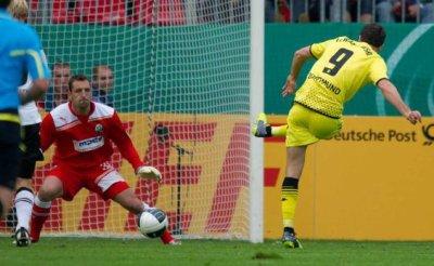 1. Runde DFB-Pokal: SV Sandhausen - Borussia Dortmund (0-3)