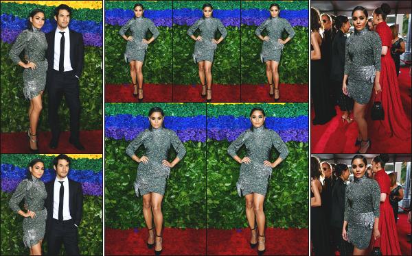 - 09.06.19 ─ Vanessa Hudgens était présente à la 73éme édition des « Tony Awards » qui se déroulait à New York.[/s#00000ize]La soirée avait lieu au « Radio City Music Hall » à New York ! Ca fait plaisir de retrouver Vanessa après un long moment sans nouvelle d'elle. Un petit flop.  -
