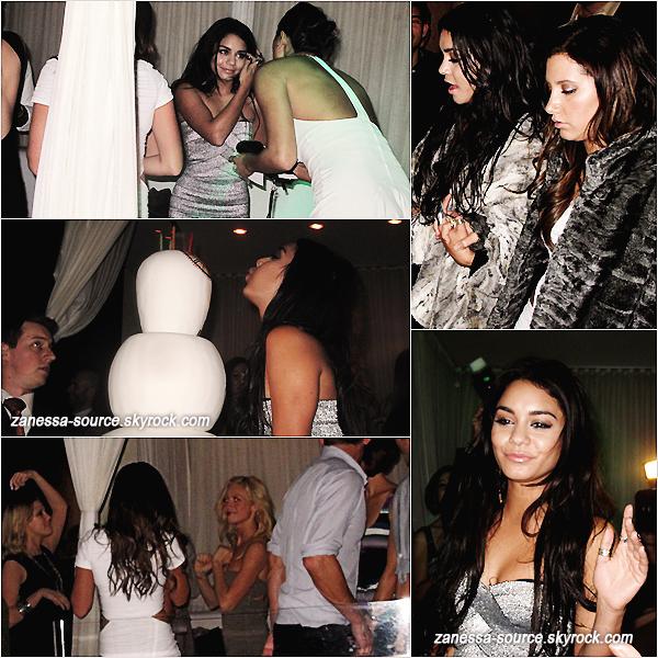 18/12/10:            C'est en célibataire que Nessa s'est présentée à son anniversaire à Las Vegas au pure night club. Ses deux BFF Ashley Tisdale & Brittany Snow étaient présentes mais pas de Zac en vu :-(