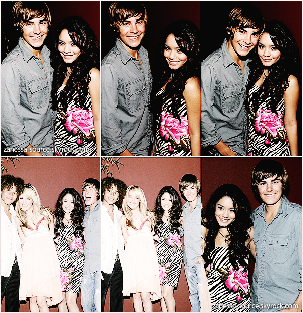 REMEMBER:   09/10/05:            Zac et Vanessa étaient à la birthday party d'Ashley Tisdale.