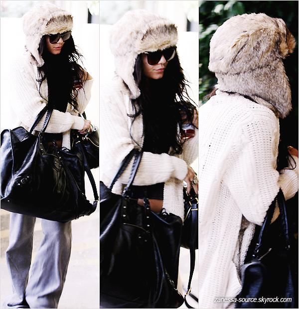 06/01/11:            Vanessa allant à un rendez-vous d'affaires dans studio city.