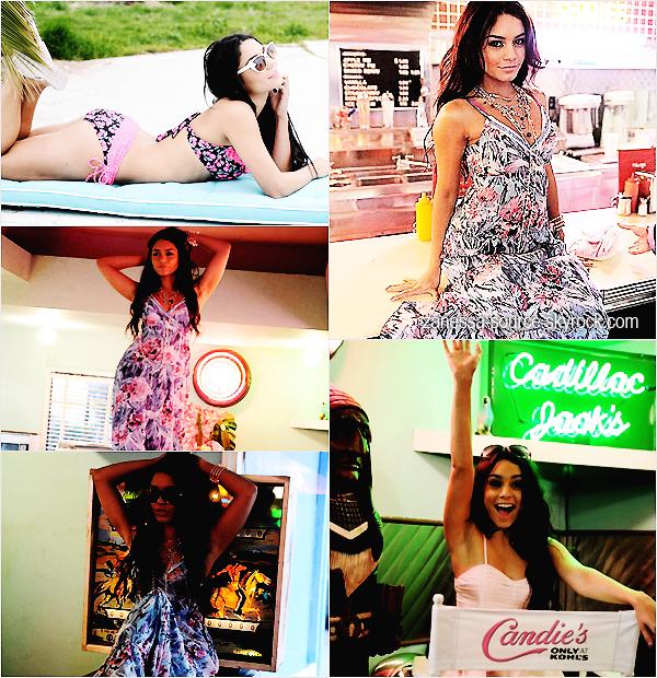 Encore et encore des photos de Vanessa pour la marque CANDIE'S  $)