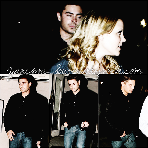 28/01/11:            Zac quittant un concert dans Beverly Hills.