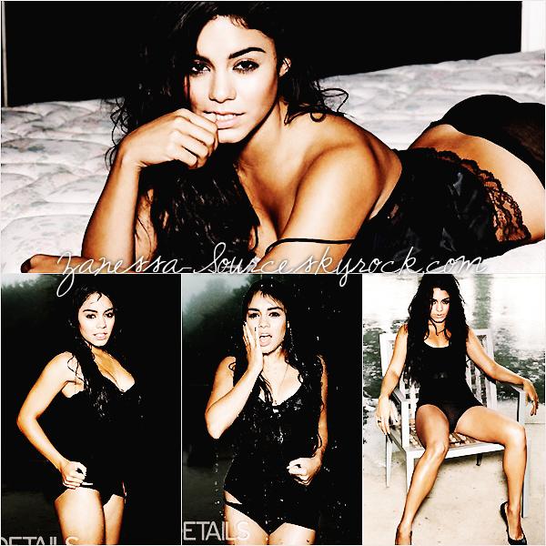 DIVERS:            Photoshoot très sexy de Vanessa pour le magazine DETAILS.
