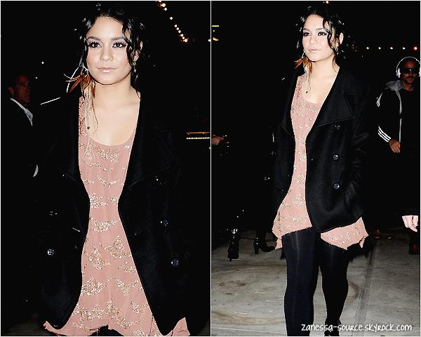 14/02/11:            Vanessa est à New york, elle était au défilé Alice+Olivia by Stacey Bendet avec sa BFF Brittany snow.