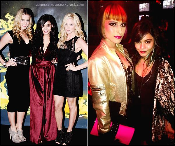 """18/02/11:            Nessa à la """"nike celebration"""" organisé par Kanye West avec ses BFF Brittany Snow et Laura New + 19/02/2011 elle était à l'anniversaire de Victoria Justice."""