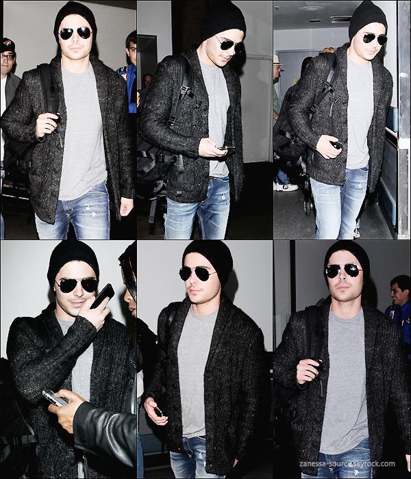 05/03/11:            Bye bye New York ! Zac a été aperçu à l'aéroport JFK après avoir terminé de tourner ces scènes.