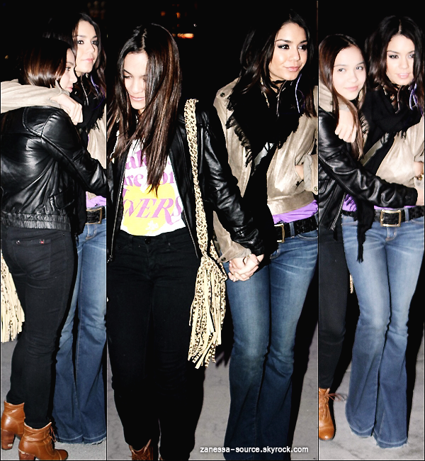 22/03/11:            Vanessa en mode cow-boy religieux quittant un studio cafe dans studio city.