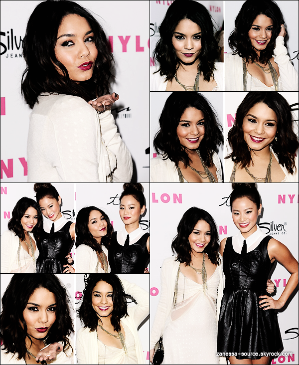 24/03/11:            Vanessa et ses co-stars de SUCKER PUNCH étaient au 12ème anniversaire organisé par NYLON.