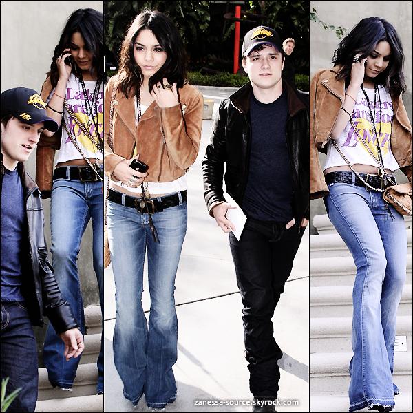 27/03/11:            Après son court séjour à Las Vegas, Vanessa de retour chez elle à LA.