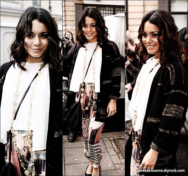 Journée du 31/03/11:            Tout d'abord, Vanessa a été vue arrivant puis quittant les studios BBC.