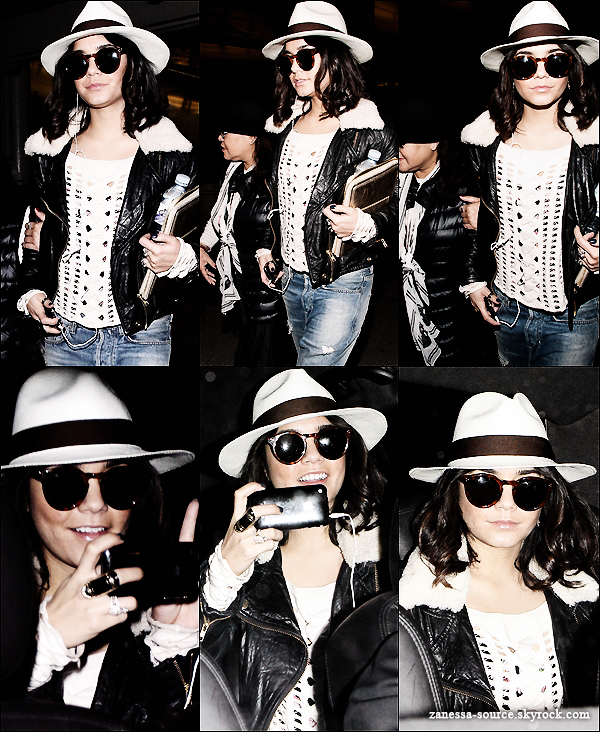 05/04/11:            Vanessa pour un court séjour à PARIS: Elle a été vue faisant du shopping avec sa mère Gina.