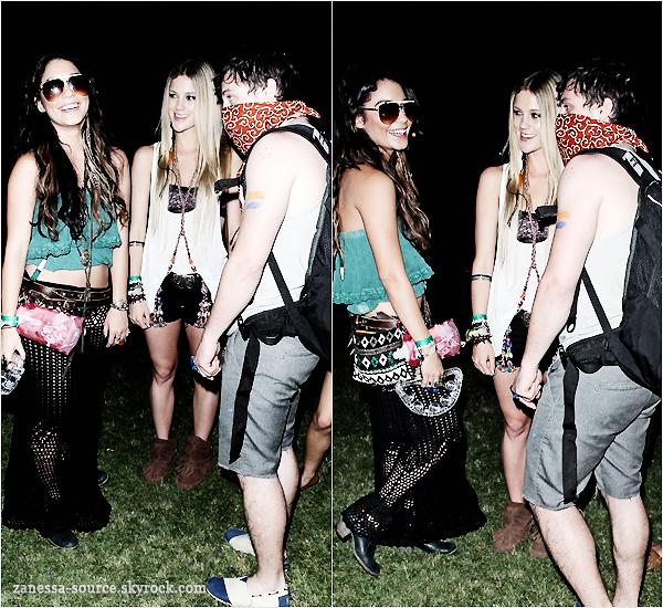 16/04/11:            Vanessa et les mêmes amis que la veille au Coachella Festival music: DAY 2.