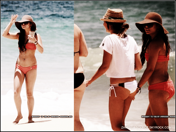 02/05/11:            Vanessa,sa BFF Ashley Tisdale et une amie ont été vu, après avoir fait bronzette, se promenant.