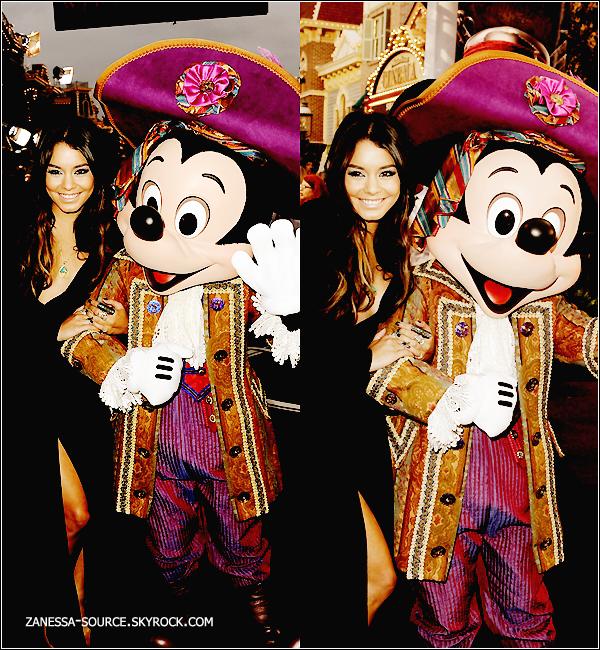 07/05/11:            Vanessa et ses BFF Ashley Tisdale et Laura New à la première de Pirates des caraibes 4.