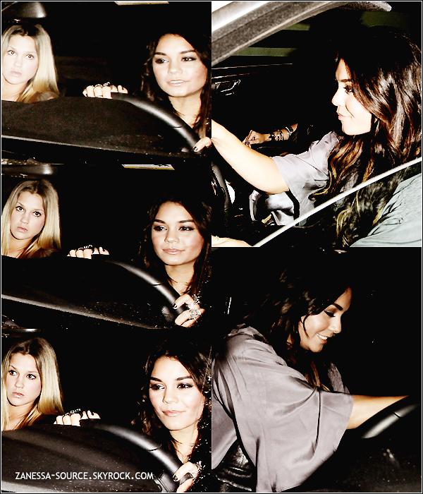 10/05/11:            Vanessa et Laura New quittant la boîte de nuit TROUSDALE à LA dans West Hollywood.