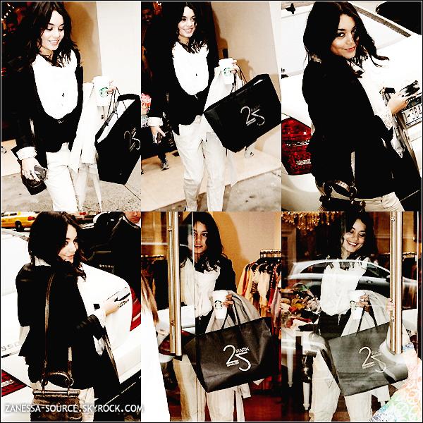 17/05/11:            Vanessa est à New York ! Sa première action a été de faire du SHOPPING au park 25.