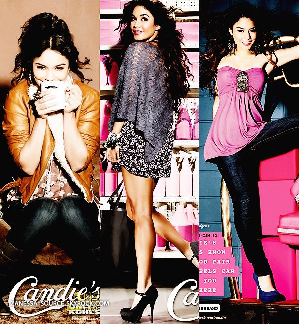 DIVERS:            Outtakes de Vanessa pour la nouvelle collection automne 2011 de CANDIE'S.