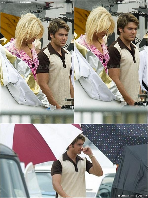 05/08/11:            Zac était une nouvelle fois sur le tournage de THE PAPERBOY en Louisiane.