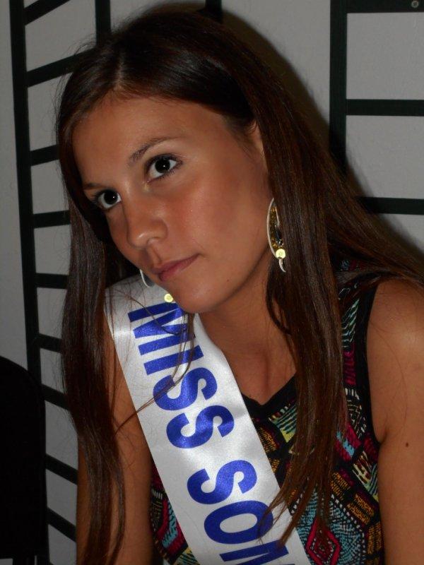 Soutien à Miss somme 2014, Olympe Thorrignac pour Miss Picardie 2014
