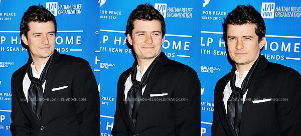 - Le 14 Janvier 2012, Orlando était au Cinéma For Peace. -