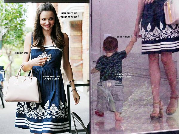 -  Le 13/02 à Sydney, Orlando et sa famille (Miranda et Flynn) ont été vus faisant les magasins. -