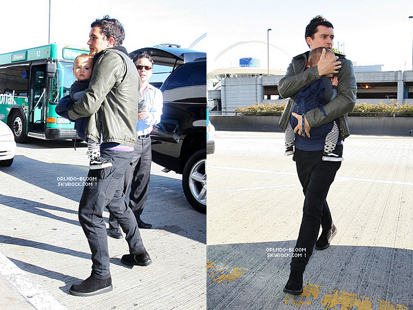 - Le 4 mars, Orlando et Flynn ont été vus au départ de LAX, ils seraient partis pour Paris (?) -