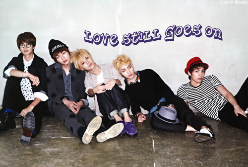"Prologue Fanfic' : "" Love Still Goes On "" ! + Prévenu(e)s !"