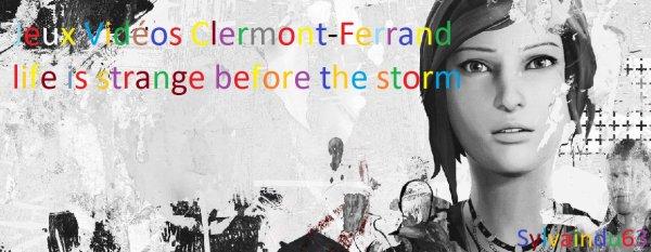 Jeux vidéos Clermont-Ferrand sylvaindu63 - life is strange befort the strome épisode 2 partie bonus