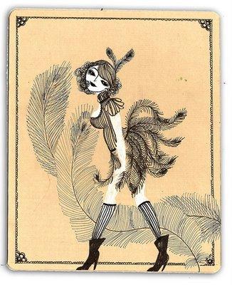 Conversation avec Mademoiselle Oiselle.
