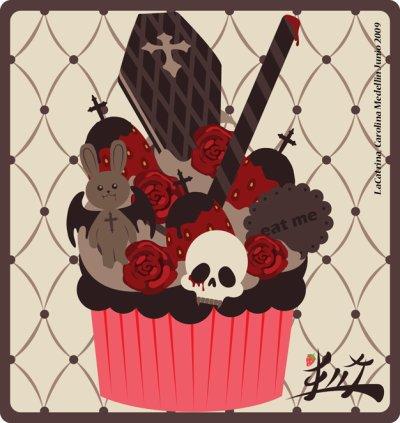 Un cupcake façon A-Little-Lady?