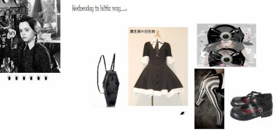 *Coordination du moment: lolita et cosplay?*