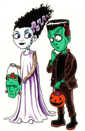 *  Special Fan-Art: Quand le Spooky devient Cute.... *
