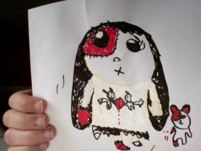 Parce que A-Little-Lady dessine aussi......