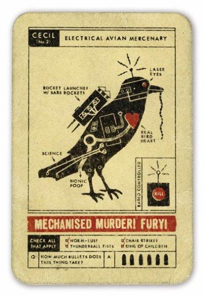 Des animaux mécaniques....