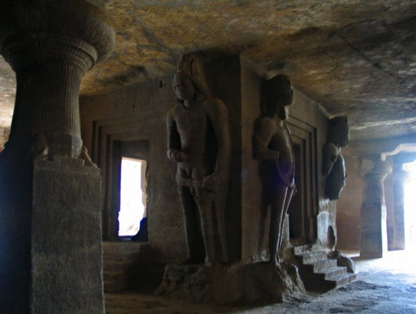 An Elite beauty of Elephanta Caves at Maharashtra
